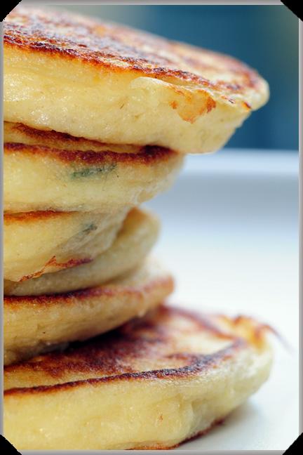 Potato Pancakes, Mère Blanc Style