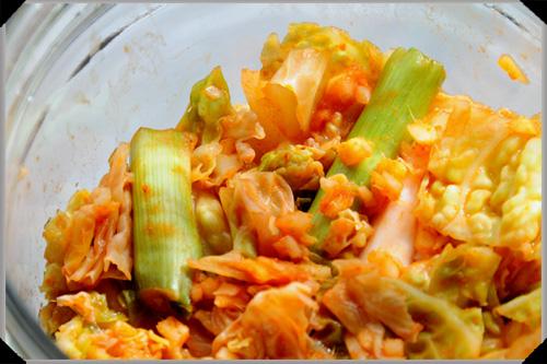 Kimchi a la Spud