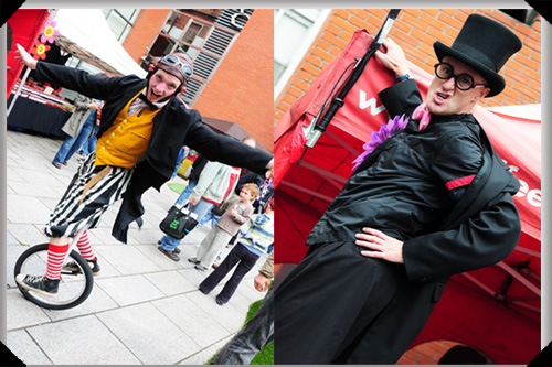 Meet the entertainers at the Temple Bar Midsummer Fair