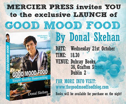 Good Mood Food Launch Invite