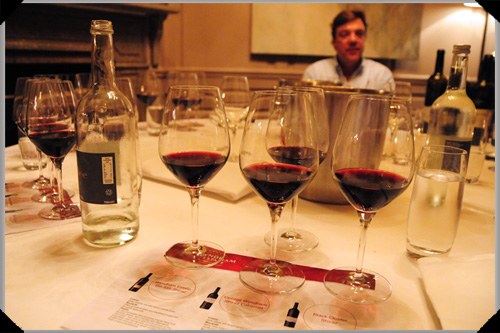 Nigel Dolan and a bevy of Wyndham Estate Shiraz beauties