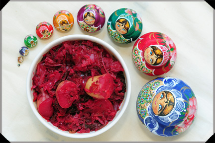 Borscht with Russian Dolls