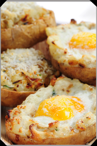 Egg Baked Potato