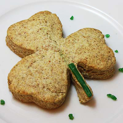 Shamrock Brown Scones