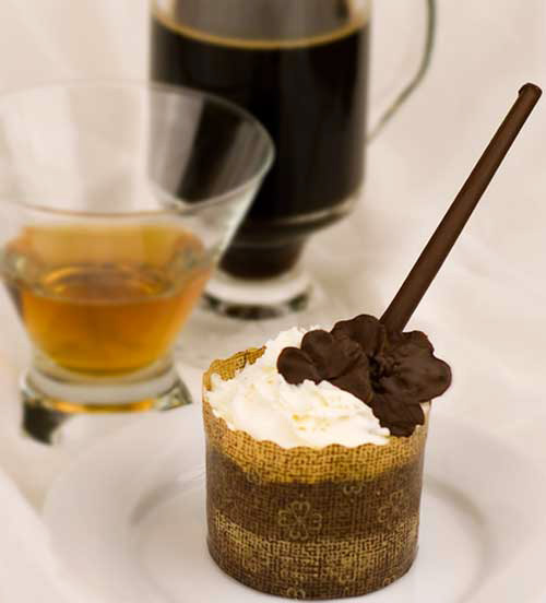 Gluten-Free Irish Coffee Cupcakes