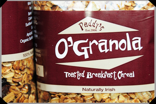 Paddy's O'Granola
