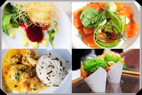 Signature dishes at Taste of Dublin