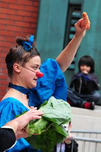 Cirque de legume cabbage carrot