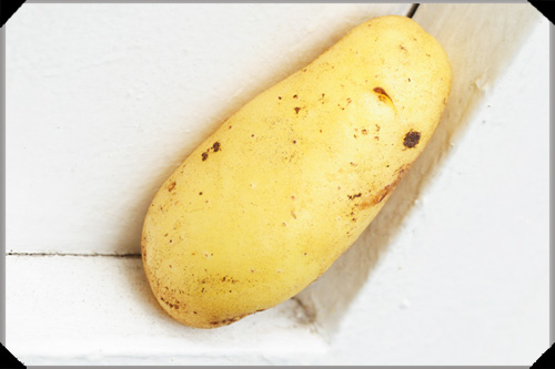 Linzer delikatess potato