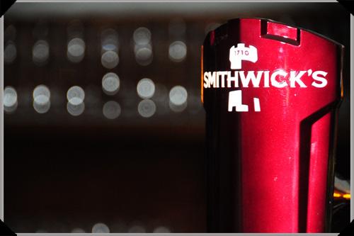 Smithwicks draught tap