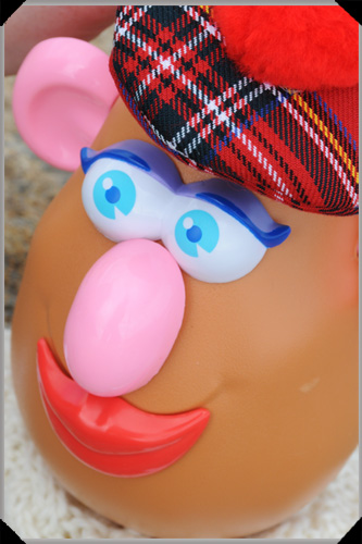 Tartan potato head