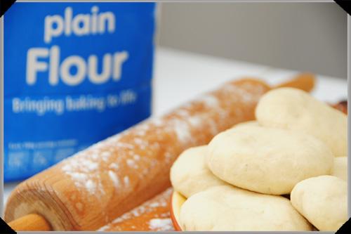 Lefse dough