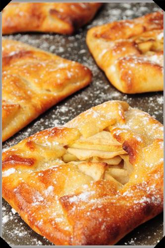 Potato apple parcels