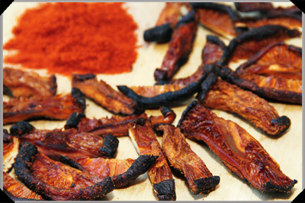 Shiitake bacon