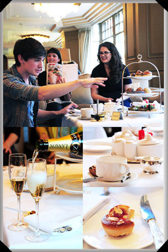 Afternoon tea Donal Skehan