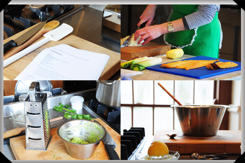 At Clodaghs Cookery School