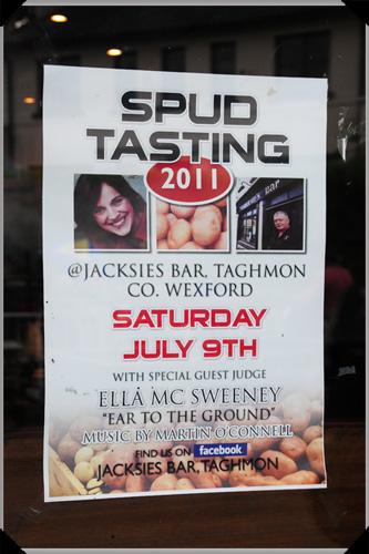 Spud tasting 2011
