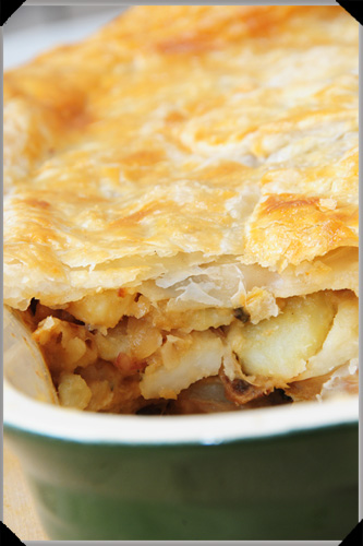 Potato and cheese pie