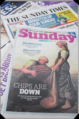 Sunday Times Sunday Cover