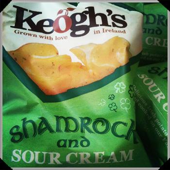 Shamrock crisps