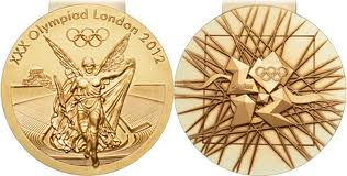 Olympic gold medals (image from bbc.co.uk)
