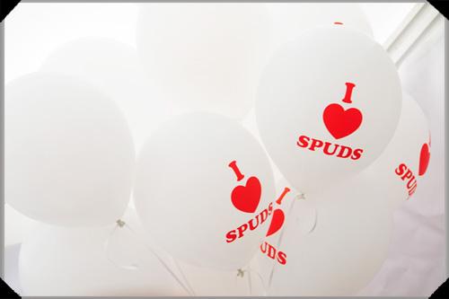Spud balloons
