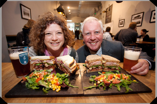 John and Sally McKenna Food Guide launch