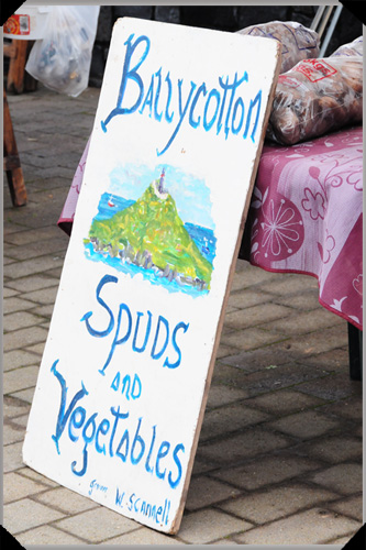 Ballycotton spuds and vegetables