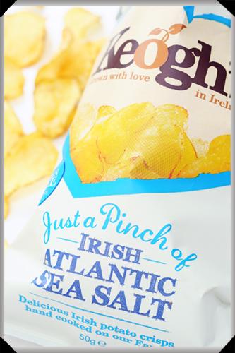 Keogh's Crisps with Irish Atlantic Sea Salt