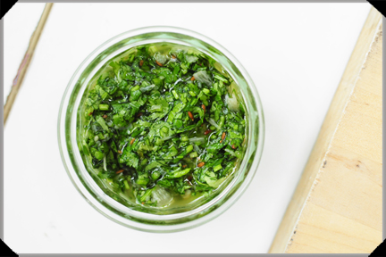 Mojo verde / green sauce