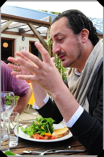 Kamal Mouzawak at Glebe Gardens