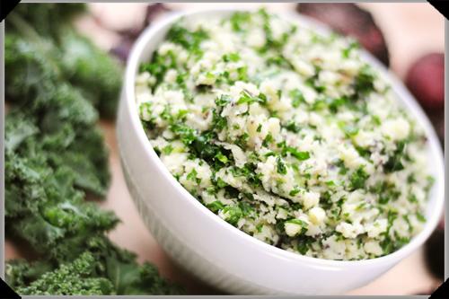 Kale & dillisk mash