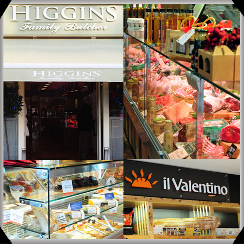 Higgins Butchers and Il Valentino Bakery