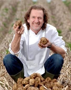 Paul Rankin with Potatoes, Belfast Telegraph