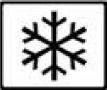 freezer snowflake