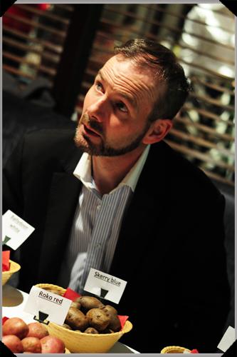 Dermot Carey at the IFWG Food Awards