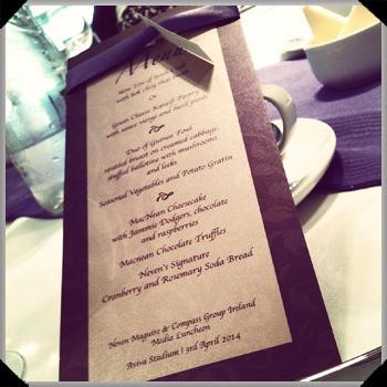 Neven Maguire menu
