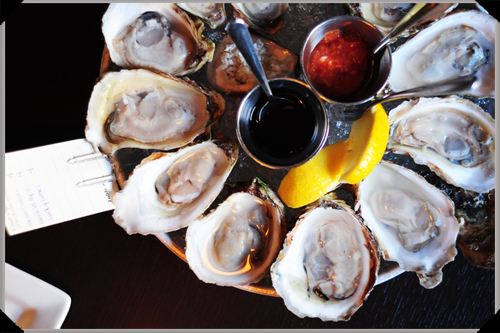 Oysters, Claddagh House, Charlottetown, PEI