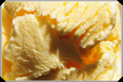 lilac ice cream