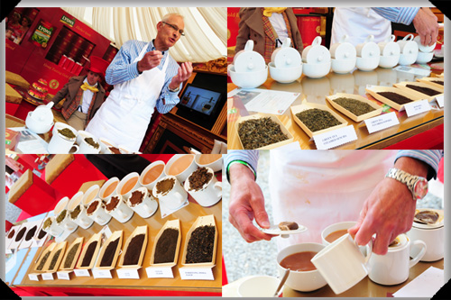 Nick Bunston, Lyons tea master at work