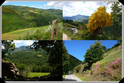 The borderlands of Galicia and Castile y León
