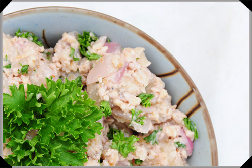 Potato Salad, Georgian style