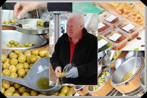 Tony Hartley and his olives
