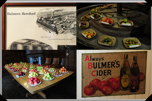 Scenes from the cider museum, Hereford
