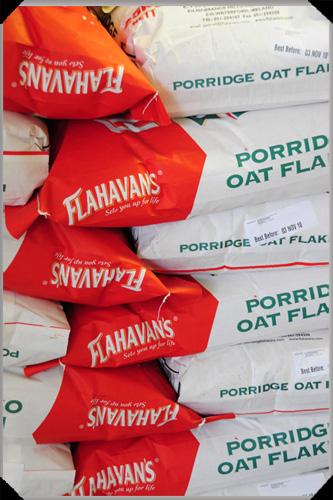 Sacks o' Flahavans Oats