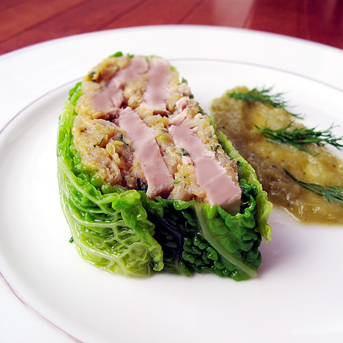 Kevin Thornton's Bacon and Cabbage Terrine