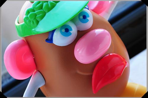 Mrs Potato Head Sadface