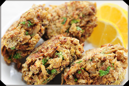 Salsify Fritters With Lemon