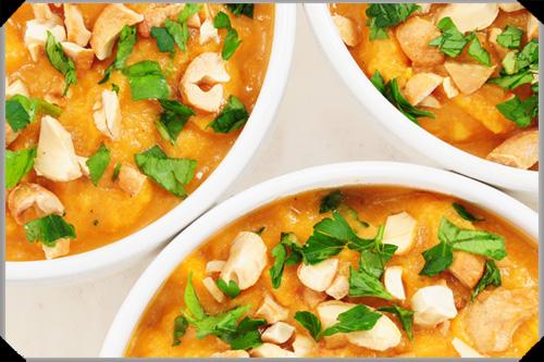 Curried Potato and Cauliflower Soup