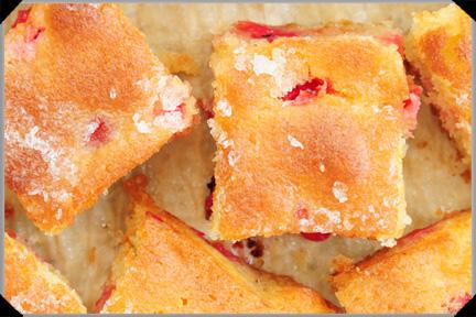 Lemon Cake With Redcurrants
